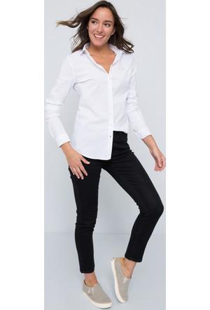 U.S. Polo Assn. Kadın Saly17Y Gömlek Beyaz