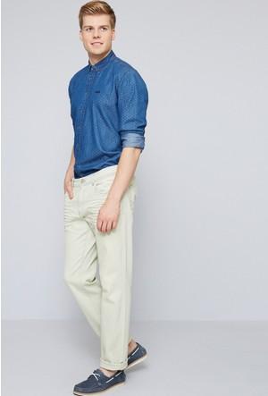 U.S. Polo Assn. Erkek Colored7Y Kot Pantolon Sarı