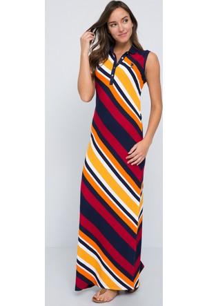 U.S. Polo Assn. Kadın Calumet Elbise Lacivert