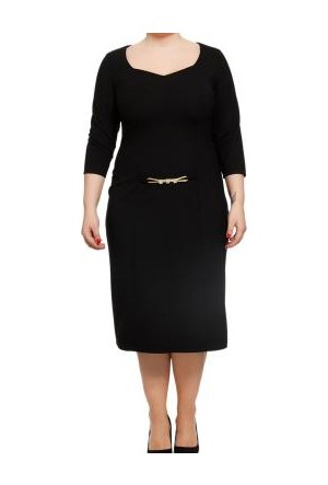 Melisita Mambo Elbise Siyah
