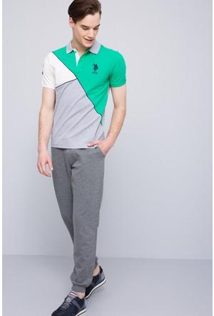 U.S. Polo Assn. Erkek Jase T-Shirt Gri Melanj