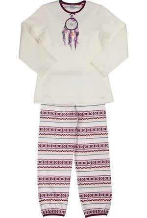 Kanz Kız Çocuk 144-5342 Pijama Takım