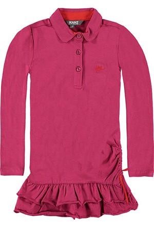 Kanz Kız Çocuk 152-6908B Uzun Kollu Elbise