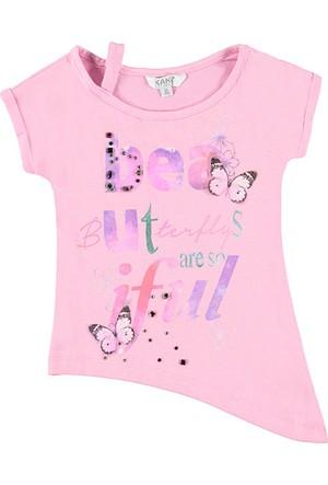 Kanz Kız Çocuk 163-3121 Kısa Kollu T-Shirt