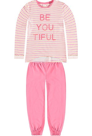 Kanz Kız Çocuk 163-5324 Pijama Takım