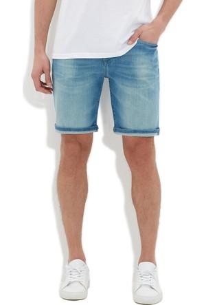 Mavi Erkek Brian Zımparalı Comfort Jean Şort