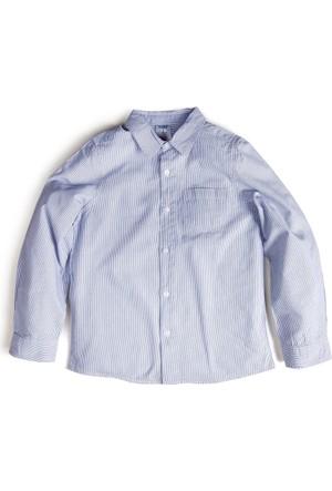 Soobe Erkek Çocuk Gömlek Mavi