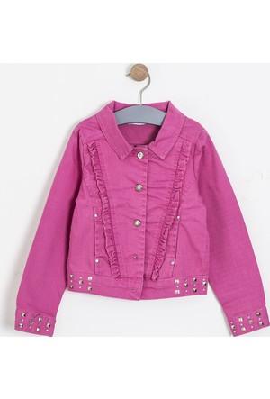 Soobe Kız Çocuk Ceket Neon Pembe
