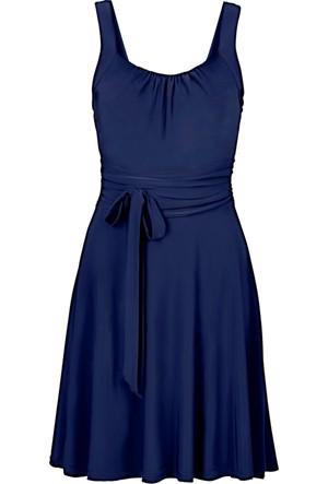 Bodyflirt Mavi Kloş Mezuniyet Elbisesi