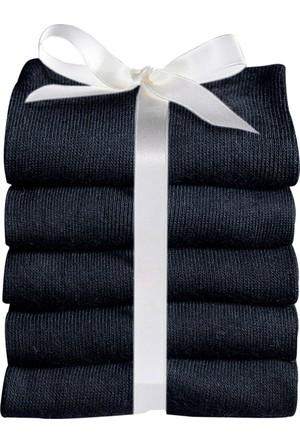 Bonprix Kadın Siyah Go In Çorabı (5Li Pakette)