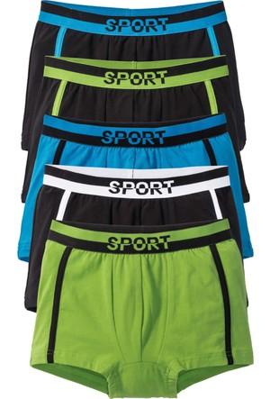 Bpc Bonprix Collection Siyah Boxer Şort (5Li Pakette)