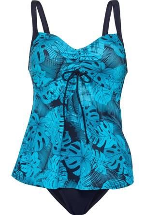 Bpc Bonprix Collection Mavi Tankini (2'li Takım)