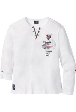 Bpc Selection Beyaz Uzun Kollu Sweatshirt Regular Fit