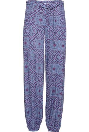 Rainbow Mavi Şalvar Pantolon