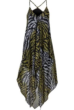 Bpc Selection Yeşil Uzun Plaj Elbisesi