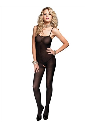 Ayyıldız Kadın Transparan Vücut Çorabı