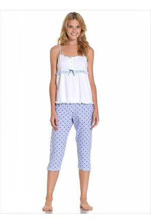 Ayyıldız Kadın Capri Pijama