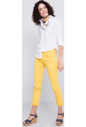 U.S. Polo Assn. Kadın Tina7Y Pantolon Sarı