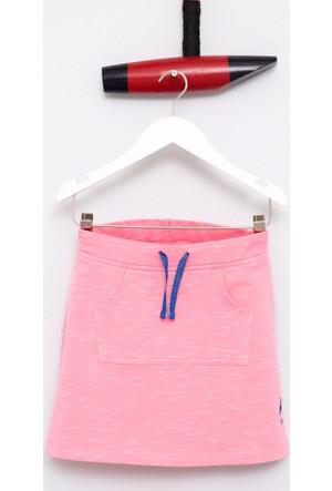U.S. Polo Assn. Kız Çocuk Vera Elbise Pembe