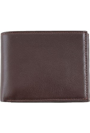 Derkon Style 064 Erkek Deri Cüzdan Kahverengi