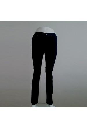 Osman Bey Kadın Büyük Beden jeans kot Pantolon Siyah