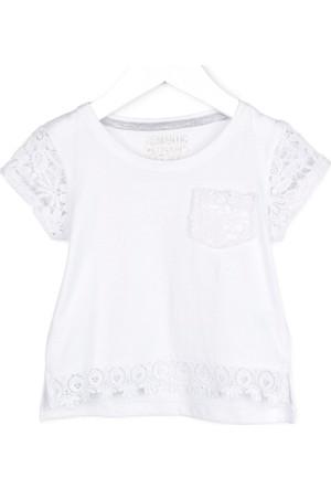 Losan Kız Çocuk Güpürlü Bluz 7 Yaş
