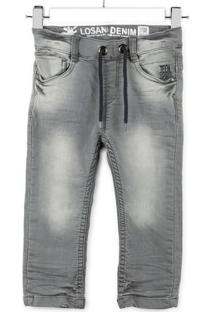 Losan Erkek Çocuk Taşlanmış Kot Pantolon 7 Yaş