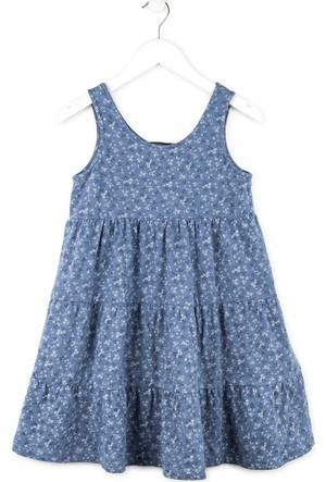 Losan Kız Çocuk Yazlık Jile Elbise 8 Yaş