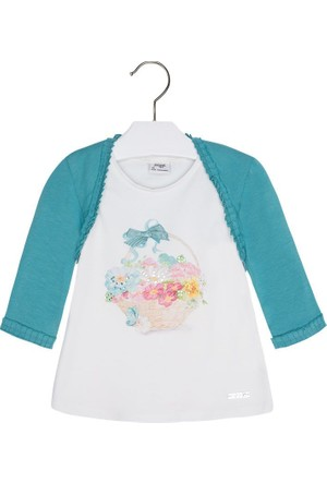 Mayoral Kız Çocuk T-Shirt Set 2 Yaş (92 cm)