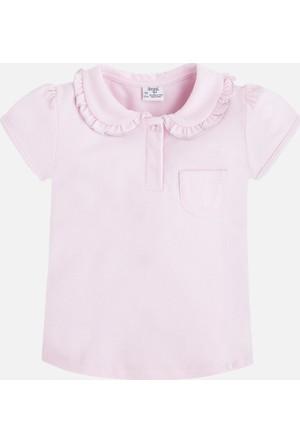 Mayoral Kız Çocuk Yakalı T-Shirt Kısa Kol 2 Yaş