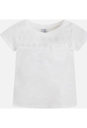 Mayoral Kız Çocuk T-Shirt Kısa Kollu 8 Yaş
