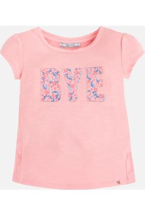 Mayoral Kız Çocuk T-Shirt Kısa Kol İşlemeli 2 Yaş