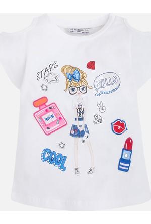 Mayoral Kız Çocuk Kısa Kol T-Shirt 9 Yaş
