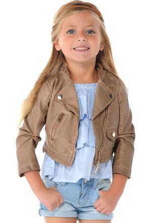 Mayoral Kız Çocuk Ceket Deri 9 Yaş