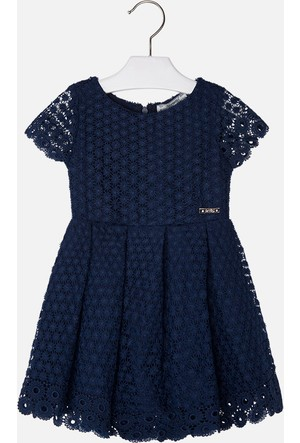 Mayoral Kız Çocuk Elbise İşlemeli 3 Yaş