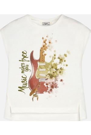 Mayoral Kız Çocuk T-Shirt Kısa Kol 14 Yaş