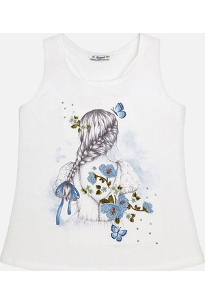 Mayoral Kız Çocuk T-Shirt Sıfır Kol 16 Yaş