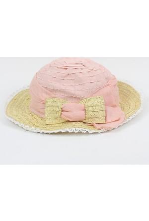 Mayoral Kız Çocuk Krem Şapka