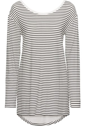 Rainbow Kadın Siyah Uzun Kollu T-Shirt