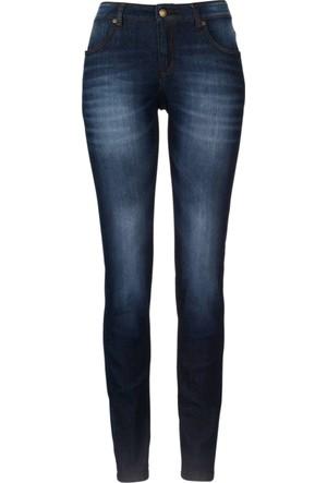 John Baner Jeanswear Siyah Streç Jean Skinny Normal