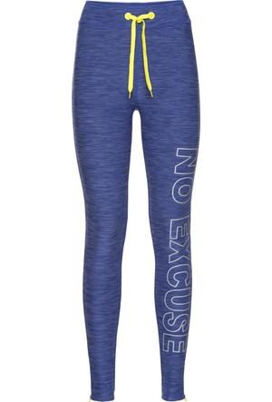 Bpc Bonprix Collection Kadın Mavi Spor Tayt