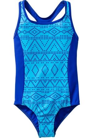 Bpc Bonprix Collection - Mavi Kız Çocuk Mayo