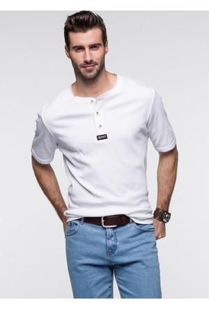 bonprix Bonprix John Baner Jeanswear Tshirt Regular Fit Siyah