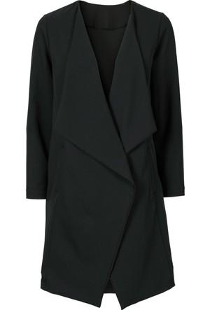 Bodyflirt Siyah Uzun Blazer Ceket
