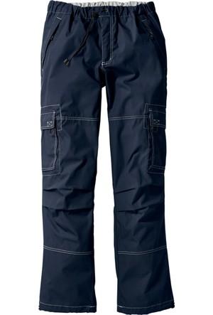 bonprix Collection Pantolon Loose Fit Straight Mavi