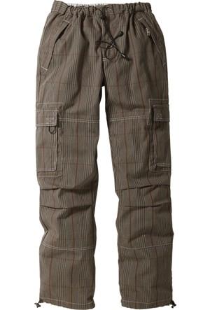 bonprix Collection Pantolon Loose Fit Straight Yeşil