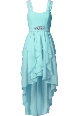 Bodyflirt Mavi Maxi Elbise