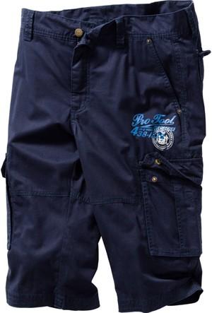 Bpc Bonprix Collection - Mavi Uzun Bermuda