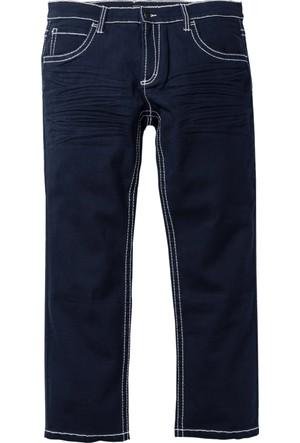Bpc Selection Mavi 5 Cepli Streç Pantolon Regular Fit Straight