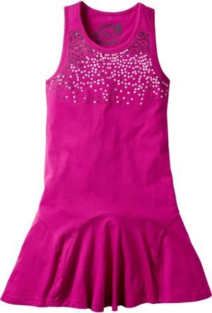 Bpc Bonprix Collection Elbise Normal Koyu Pembe